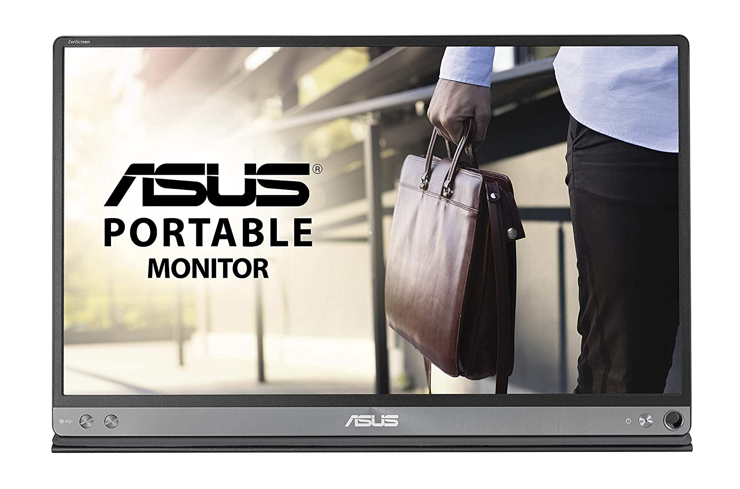 "ASUS ZenScreen MB16AC 15.6"" Full HD IPS USB Type-C Portable Eye Care Monitor"