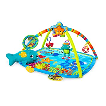 Baby Gyms & Playmats Ages Newborn Activity & Entertainment Baby Einstein Caterpillar & Friends Play Gym with Lights and Melodies