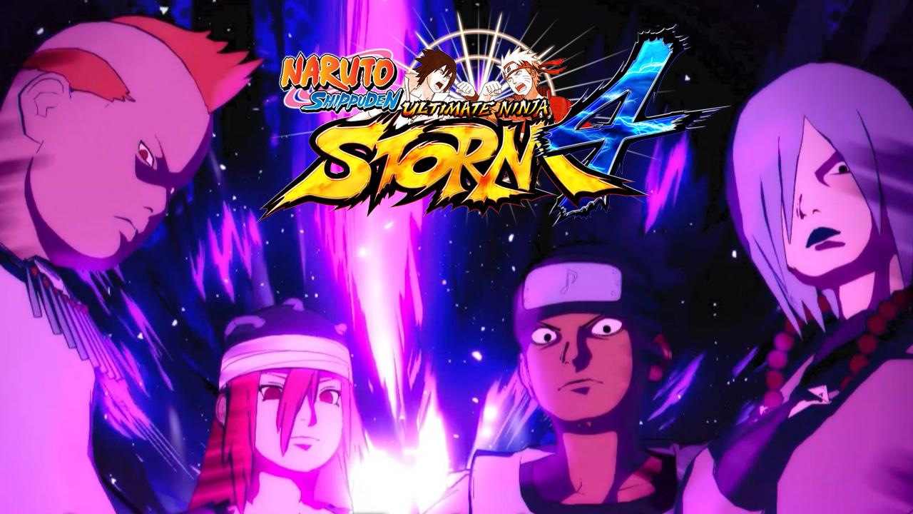Naruto Shippuden: Ultimate Ninja Storm 4 - Sound Four DLC ...