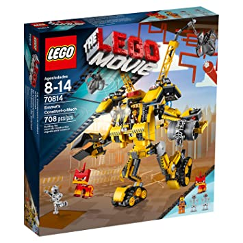 Construct 70814 De O D'emmet Jeu Construction Lego Le Movie Mech nPX80kONwZ