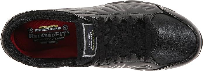 Dispensación Reafirmar Adaptar  Skechers para Trabajo de la Mujer Eldred Antideslizante Zapato:  Amazon.com.mx: Ropa, Zapatos y Accesorios
