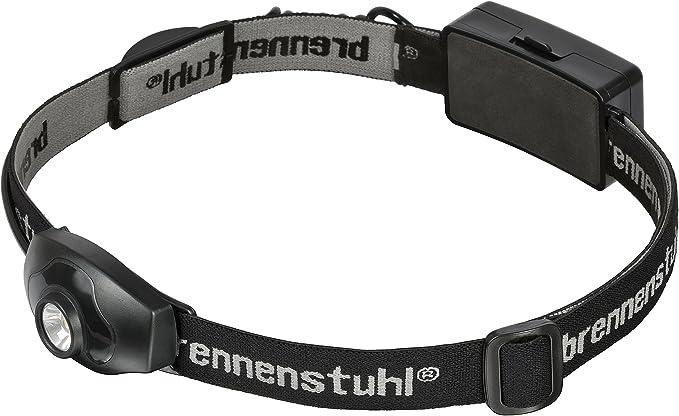 Farbe: schwarz ideal zum Joggen IP44, inkl. Batterien Brennenstuhl LED Kopflampe LuxPremium // leichte Stirnlampe LED mit hellem Frontlicht