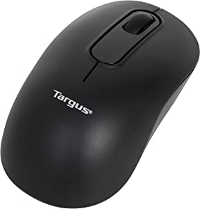 Targus Wireless Bluetooth Mouse with 1,600 DPI Optical Sensor, 4.1 Inch 2.3 Inch 1.1 Inch, Black (AMB580TT)