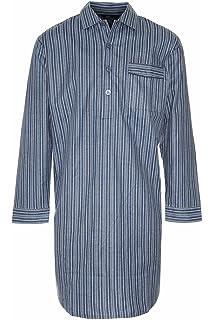 Mens Champion Quality Nightshirt Night Shirt Brushed Cotton  Amazon ... de7adb50c