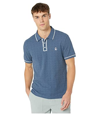 Original Penguin Mens Short Sleeve Polka Dot Polo: Amazon.es ...