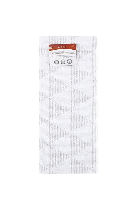 Full Circle Hue   100% Organic Cotton Modern Kitchen Towel, 15u0026quot; X  25u0026quot