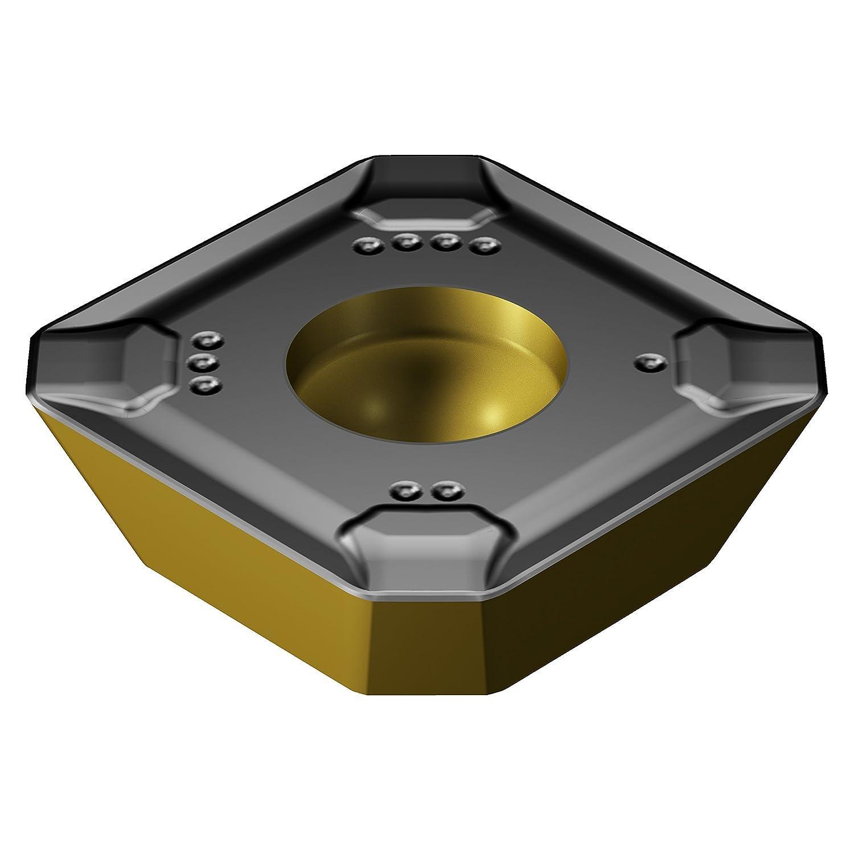 Pack of 10 0.04 mm Corner Radius Sandvik Coromant R245-18 T6 M-KM 3330 Carbide Milling Insert Positive Chip Breaker