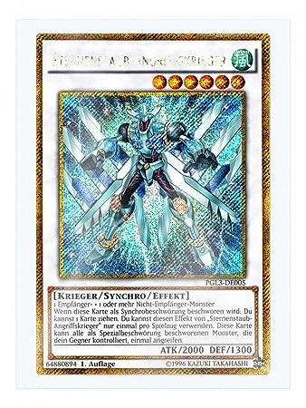 Yu-Gi-Oh STERNENSTAUB-ANGRIFFSKRIEGER PGL3-DE005 1.Auflage
