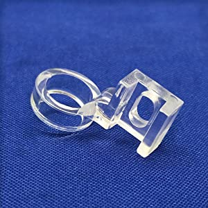 """YEQIN Low Shank Clarity Clear Ruler Patchwork Sewing Presser Foot 1/4"""" Quilting Fits Singer,Brother,Janome New Home,Elna,Viking,White,Toyota,Pfaff.etc"""