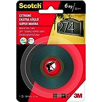 Scotch 4002 Extra Güçlü Montaj Bandı, 19 mm x 1,5 m