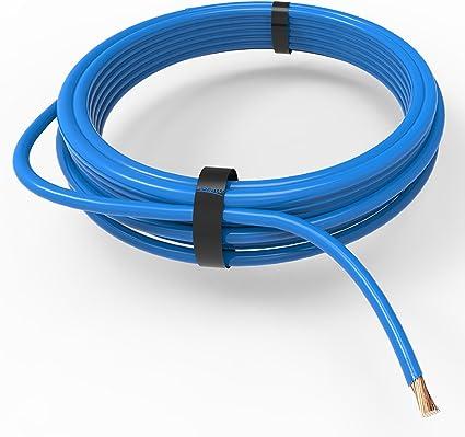 amarillo 5m AUPROTEC Cable unipolar 4,0 mm/² Hilo el/éctrico en anillo