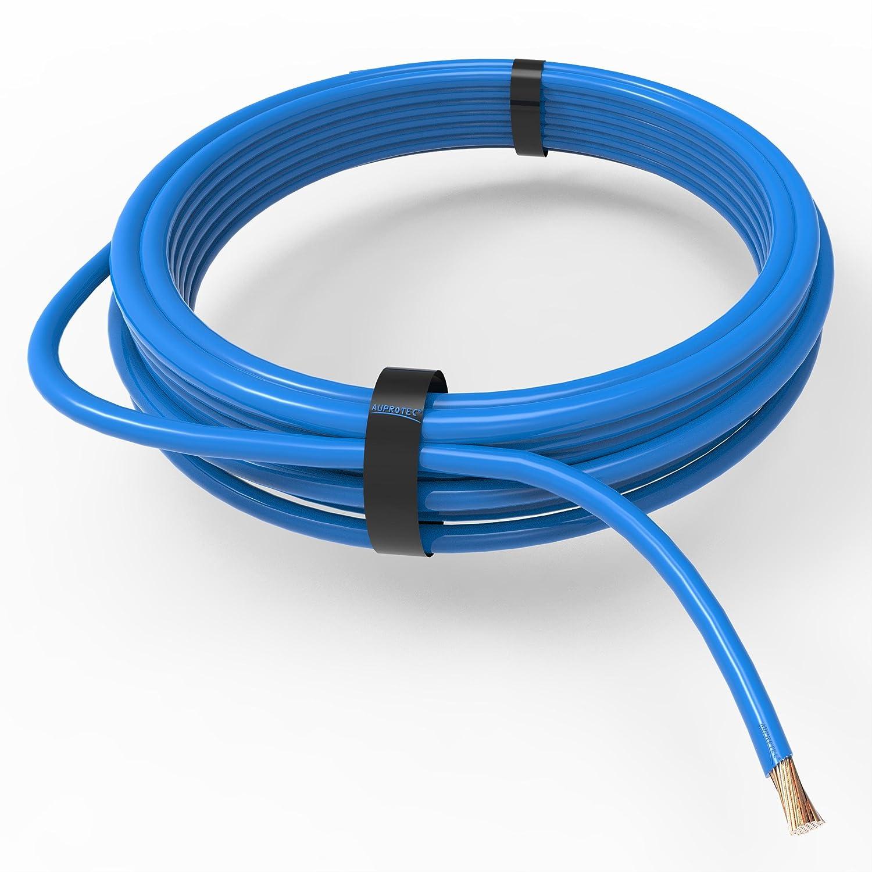 Auprotec/® Cavo unipolare 0.75 mm/² FLRY-B Filo elettrico ad anello blu 5m