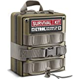 ETROL First Aid Kit, Upgrade Emergency Survival Kit - 22 in 1 Compatible IFAK - 3L Military Tactical Molle Pouch - Camping Ge