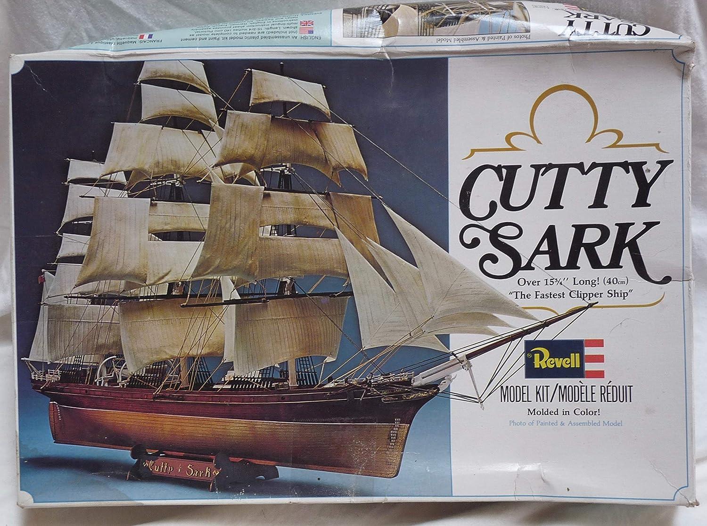Cutty Sarkプラスチックモデルキット:最も速いクリッパー船