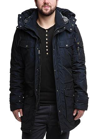 Dreimaster mantel blau