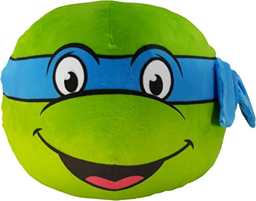 Nickelodeon s Teenage Mutant Ninja Turtles, Leo 3D Ultra Stretch Cloud Pillow, 11 , Multi Color