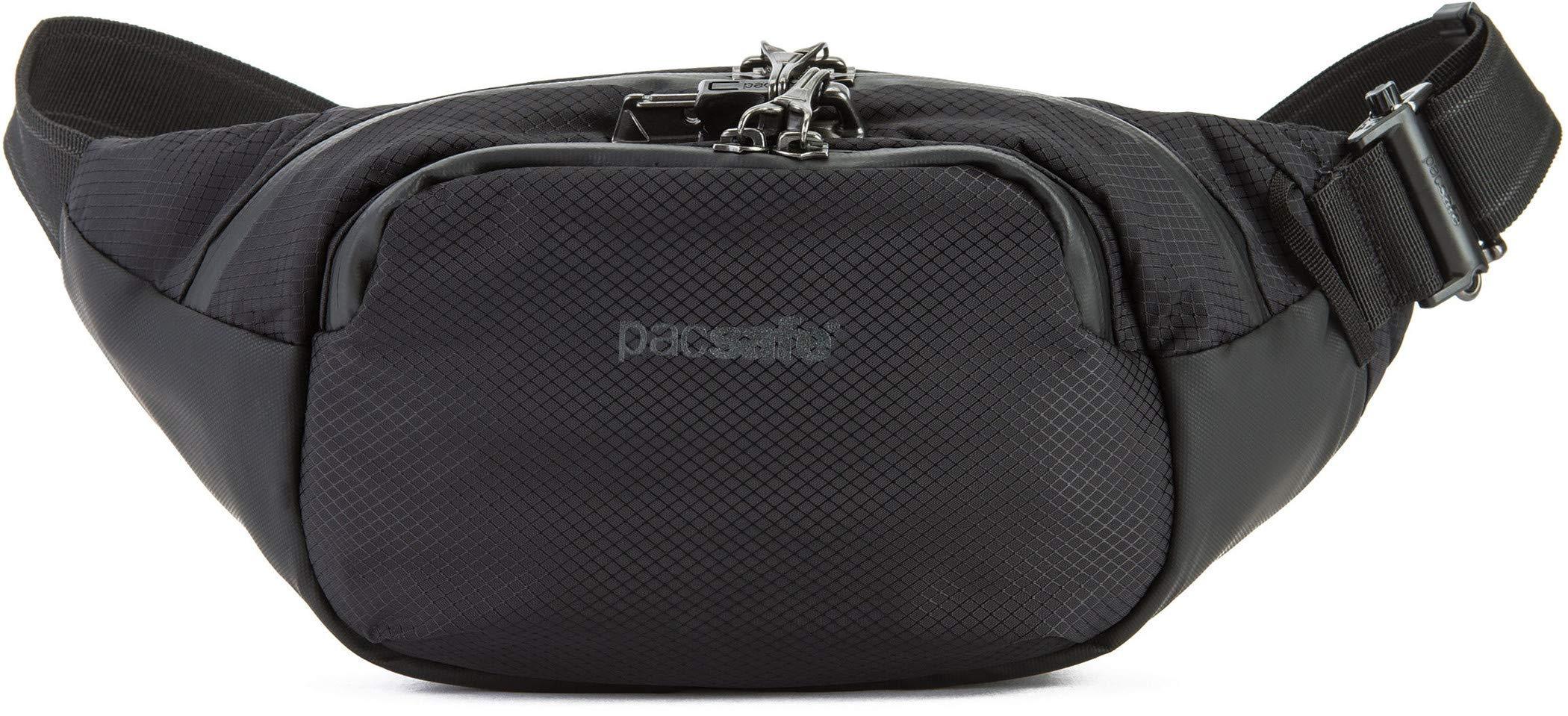 PacSafe Venturesafe X anti-theft waistpack Sport Waist Pack, 38 cm, 4 liters, Black (Black 100) by Pacsafe