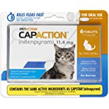 CapAction Oral Flea Treatment Cat 6ct, Model Number: 711650150006
