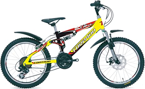 junior Torpado mtb full cobra bicicleta 20