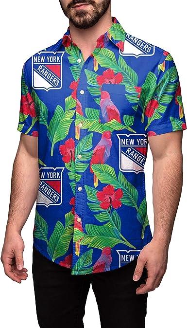 NHL Mens Floral Shirt Washington Capitals XXX Large