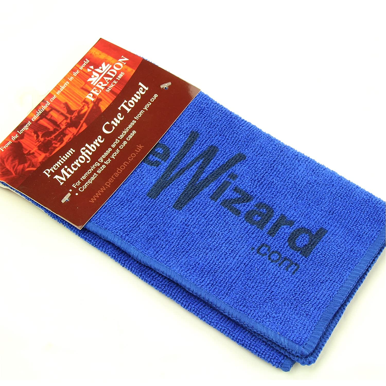 Blau Peradon Microfaser Queue Handtuch