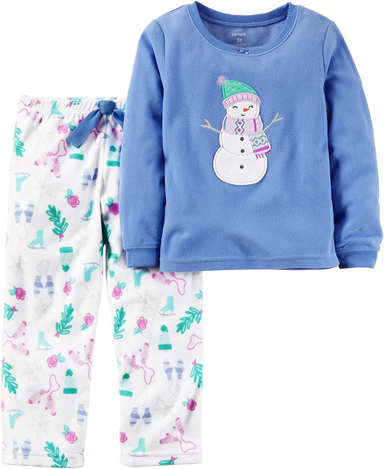 Carters Baby Girls 2 Pc Fleece 377g122