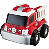 Kid Galaxy My First RC Fire Truck. Toddler Remote Control Toy, Red, 27 MHz