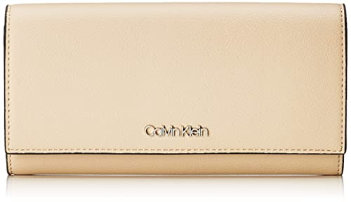 Calvin Klein - Tack Lrg Trifold, Carteras Mujer, Rosa (Light Sand),