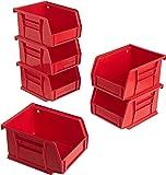 Akro-Mils 8212 Gavetas para Almacenamiento, Rojo