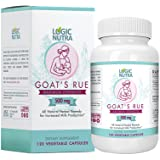 Organic Goat's Rue Herb Lactation Aid Support Supplement for Breastfeeding Mothers - 120 Vegetarian Powder Capsules