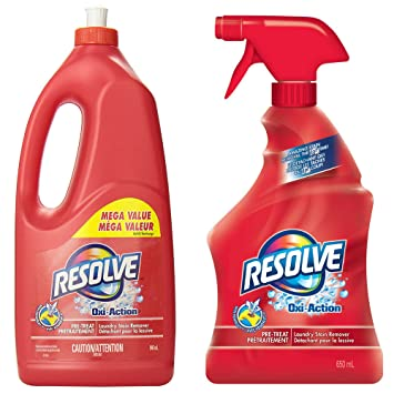 Resolver oxi-action Max/Spray N Lavado Lavandería quitamanchas disparador de Spray