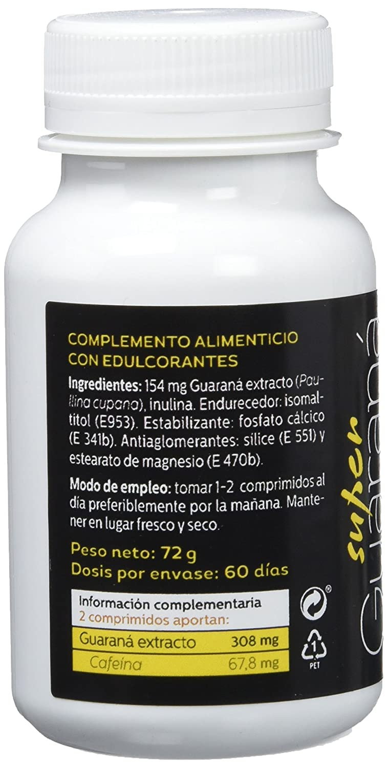 SOTYA - SOTYA Super Guaraná, 120 comprimidos, 600mg