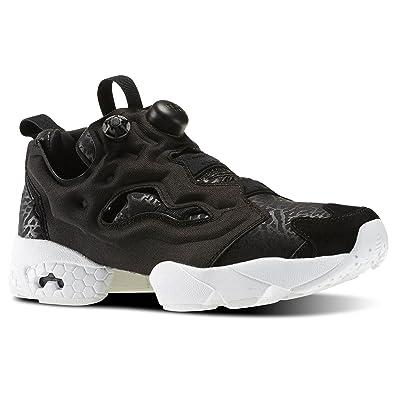 89b2c42a0d6e Reebok Women s Instapump Pump Fury Gallery Running Shoe Black White Size  10  Amazon.co.uk  Shoes   Bags