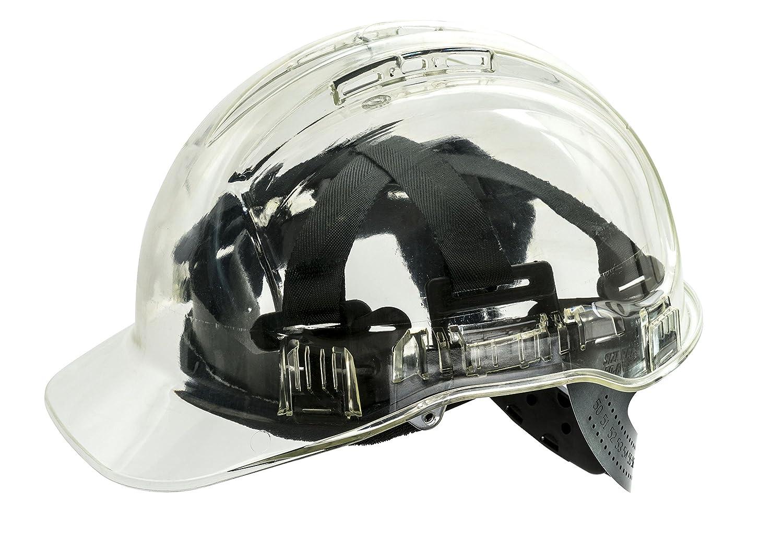 Regular Blue Portwest PV50BLU Series PV50 Peak View Translucent Hard Hat Helmet