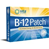 Vitamin B12 Patch | Extra Strength B12 Topical Patches | Men/Women | Boost Energy, Focus, Memory & Metabolism 1 Month Supply