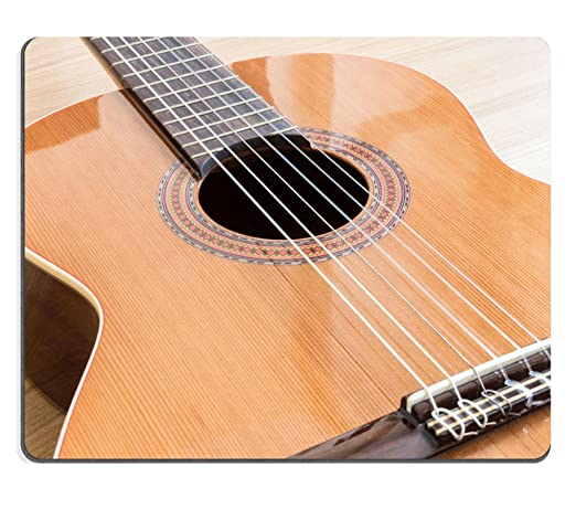 liili Mouse Pad alfombrillas de goma natural Una Guitarra Clásica ...
