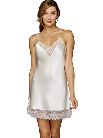 7767c513a5 Julianna Rae Women s Tivoli 100% Silk Chemise at Amazon Women s ...