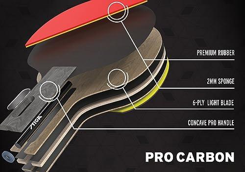 Stiga Pro carbon reviews