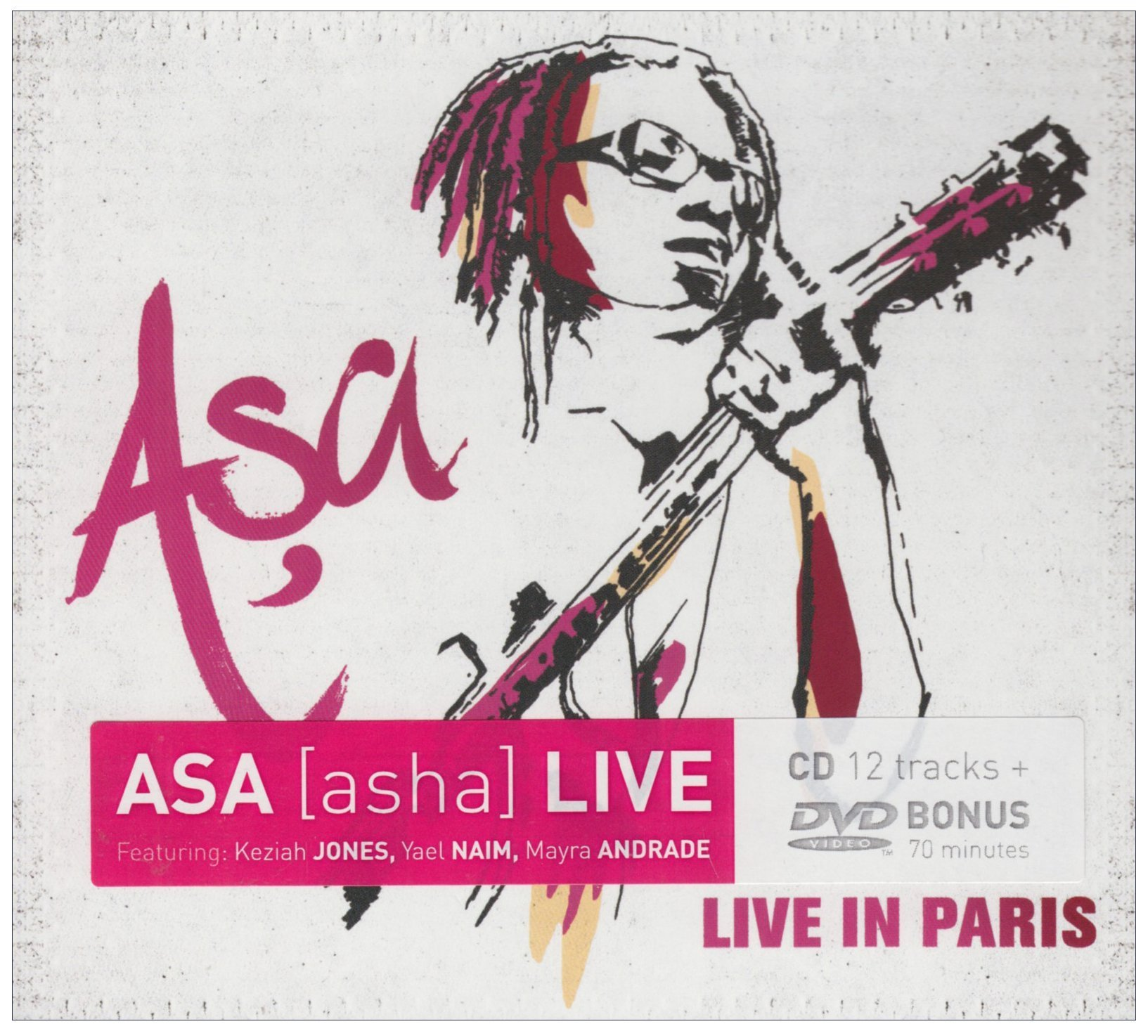 Asa//Live in Paris (CD/DVD Combo) by Naive