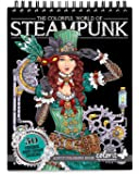 ColorIt Colorful World of Steampunk Adult Coloring Book - 50 Single-Sided Designs, Thick Smooth Paper, Lay Flat Hardback…
