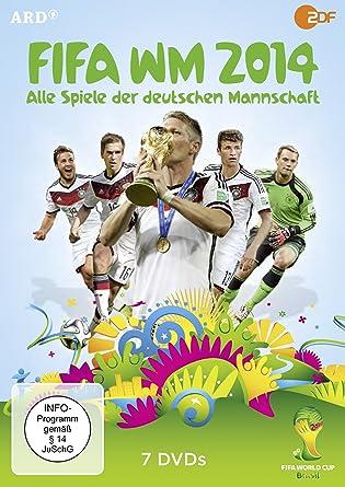 Fifa Wm 2014 Alle Spiele Der Deutschen Mannschaft 7 Dvds