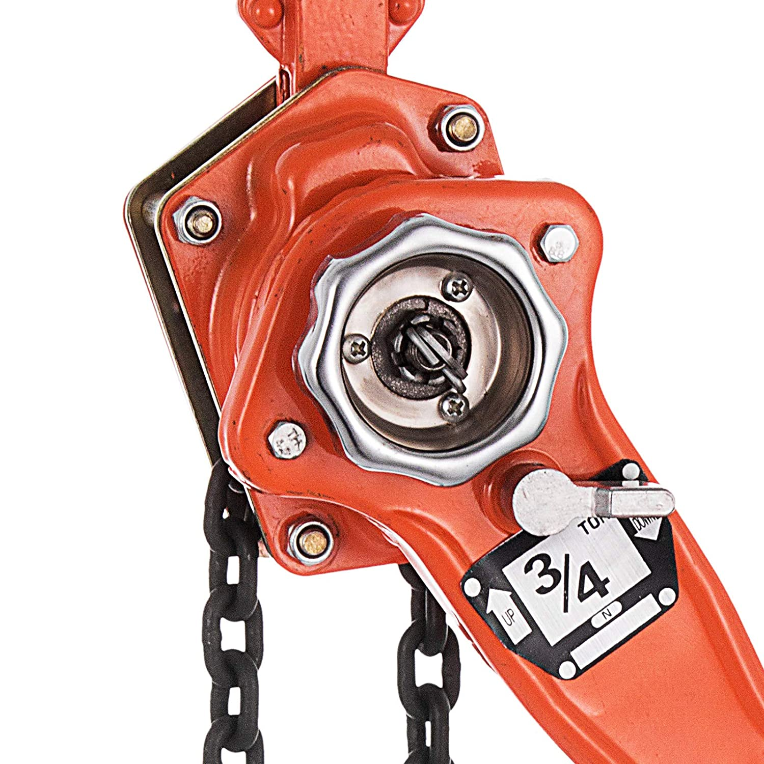 Happybuy 3/4 Ton Chain Hoist 10 FT Lift Lever Block Chain Hoist