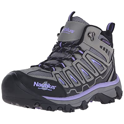 Nautilus 2251 Women's Light Weight Mid Waterproof Safety Toe Hiking Shoe: Shoes
