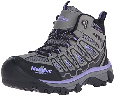 c8a0fe6b3fdef Nautilus 2251 Women's Light Weight Mid Waterproof Safety Toe Hiking Shoe