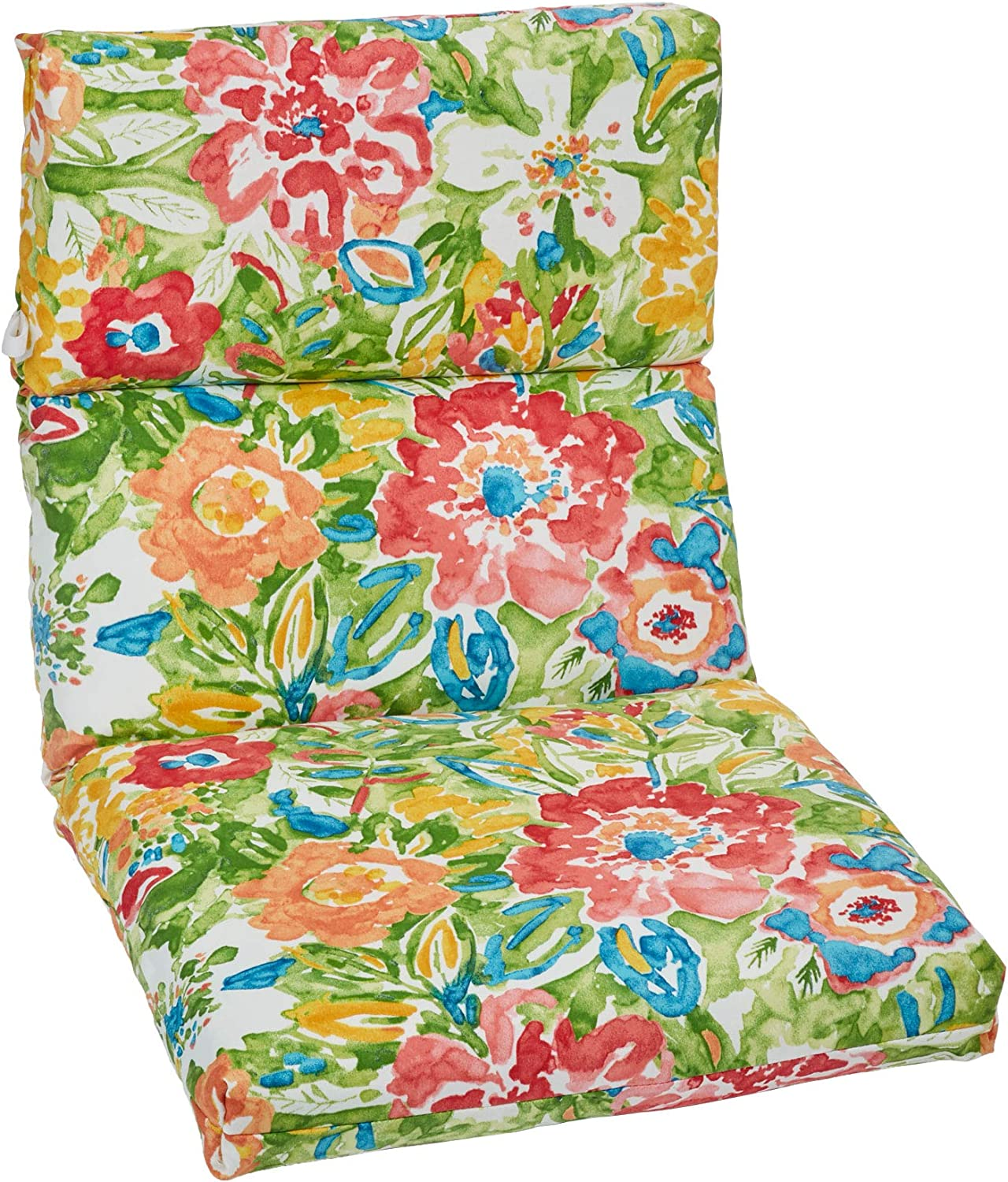 BrylaneHome Universal Chair Cushion – Poppy Green