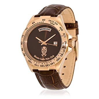 Monte-Carlo Polo Club - Reloj de Cuarzo clásico para Hombre con ...