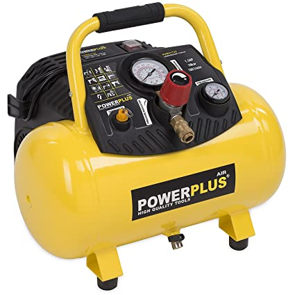Compresor de aire 1,5 PS 12 litros POWX1723