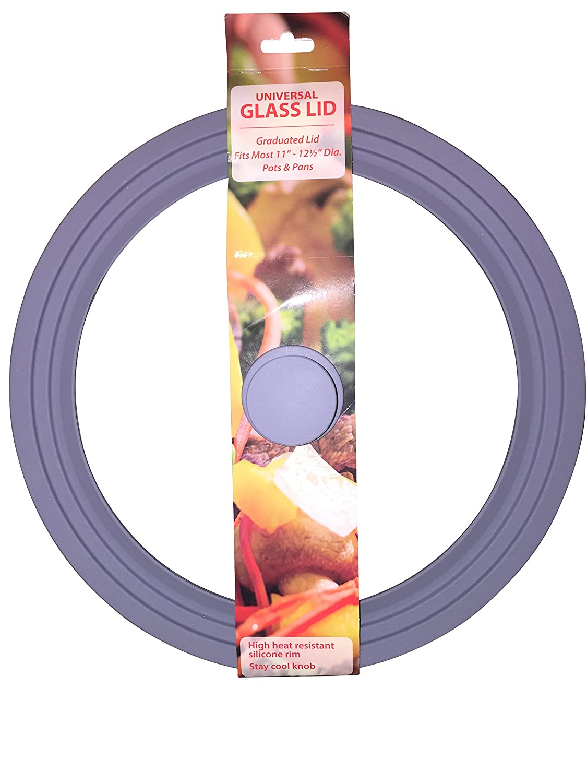 卸売 ユニバーサルガラスGraduated蓋。ライトグレーFits 10 8