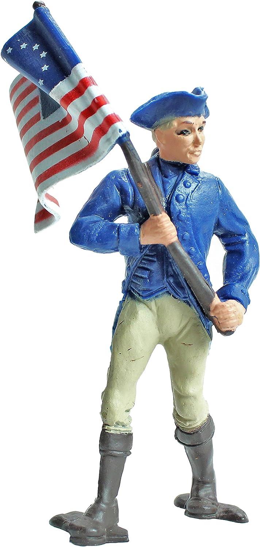 Toob Safari American Revolution Konf/öderierten Armee Miniaturen Mehrfarbig
