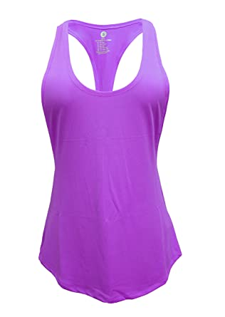 60466bd3da56cc Cabales Women s Flowy Racerback Tank Top Ladies Yoga Fitness Racerback Shirt